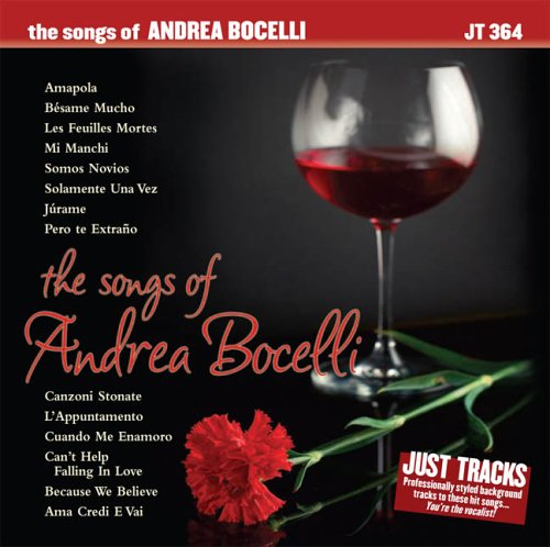 The songs of Andrea Bocelli