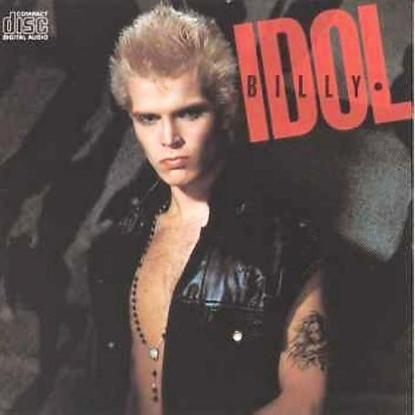 Billy Idol CD Cover Photo