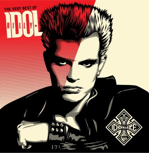 The Very Best of Billy Idol: Idolize Yourself (CD/DVD) CD Cover Photo