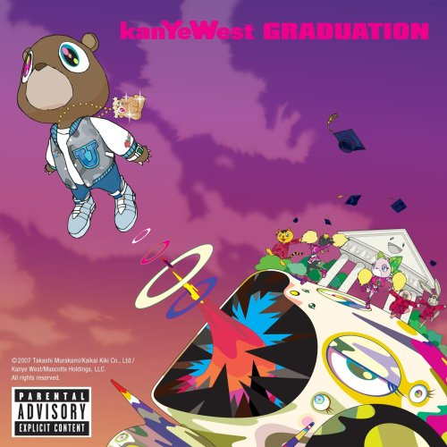kanye west graduation album cover art. Graduation CD Cover Photo