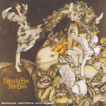 KATE BUSH - Never For Ever Album