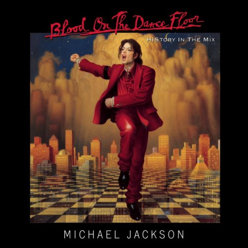 Blood On The Dance Floor: HIStory In The Mix CD Cover Photo