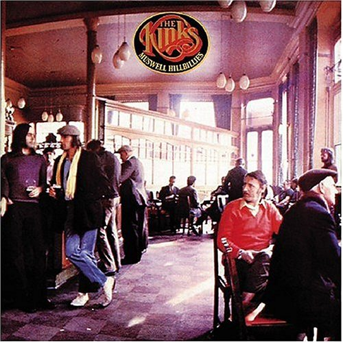 The Kinks - Muswell Hillbillies (1971) Cd-cover